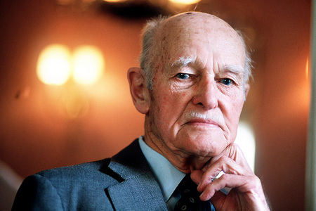 Cold War diplomat and author George Kennan