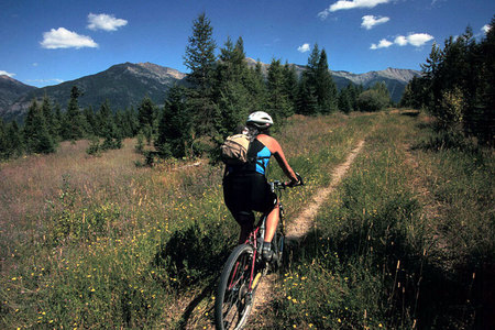 Mountain Biking the Continental Divide, Montana
