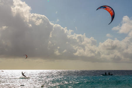 Kite Boarding, Bonaire