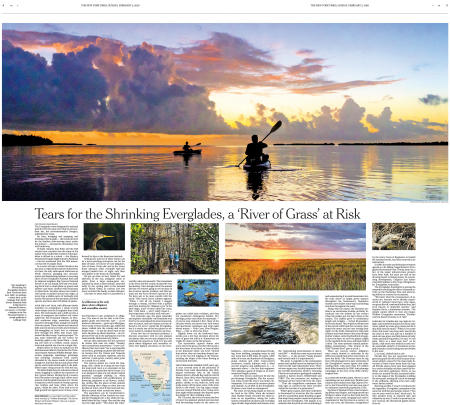 The New York Times Travel Section cover story